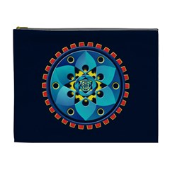 Abstract Mechanical Object Cosmetic Bag (xl)