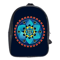 Abstract Mechanical Object School Bags(large)