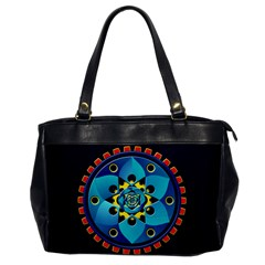 Abstract Mechanical Object Office Handbags