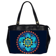 Abstract Mechanical Object Office Handbags (2 Sides)