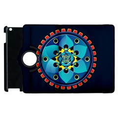 Abstract Mechanical Object Apple Ipad 3/4 Flip 360 Case