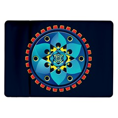Abstract Mechanical Object Samsung Galaxy Tab 10 1  P7500 Flip Case