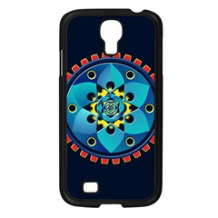 Abstract Mechanical Object Samsung Galaxy S4 I9500/ I9505 Case (Black)