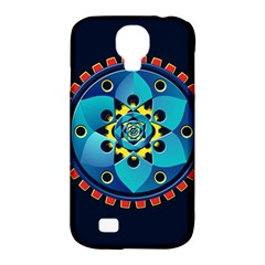 Abstract Mechanical Object Samsung Galaxy S4 Classic Hardshell Case (PC+Silicone)