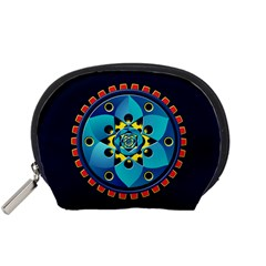 Abstract Mechanical Object Accessory Pouches (Small)
