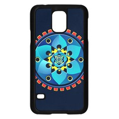 Abstract Mechanical Object Samsung Galaxy S5 Case (black)