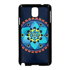 Abstract Mechanical Object Samsung Galaxy Note 3 Neo Hardshell Case (black)
