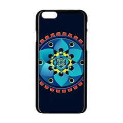 Abstract Mechanical Object Apple Iphone 6/6s Black Enamel Case