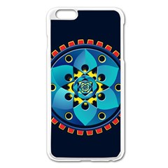 Abstract Mechanical Object Apple iPhone 6 Plus/6S Plus Enamel White Case