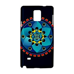Abstract Mechanical Object Samsung Galaxy Note 4 Hardshell Case