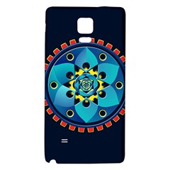 Abstract Mechanical Object Galaxy Note 4 Back Case
