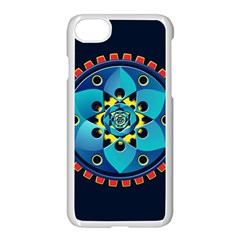 Abstract Mechanical Object Apple Iphone 7 Seamless Case (white)