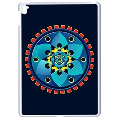 Abstract Mechanical Object Apple Ipad Pro 9 7   White Seamless Case