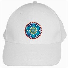 Abstract Mechanical Object White Cap