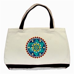 Abstract Mechanical Object Basic Tote Bag