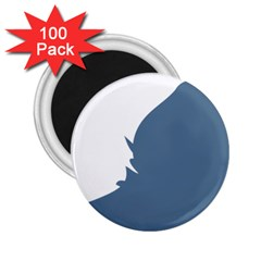 Blue White Hill 2.25  Magnets (100 pack)