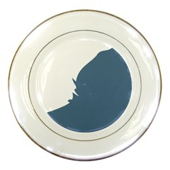 Blue White Hill Porcelain Plates