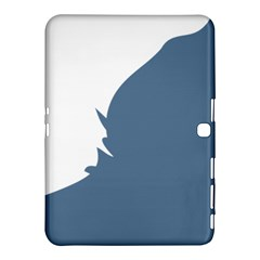 Blue White Hill Samsung Galaxy Tab 4 (10.1 ) Hardshell Case