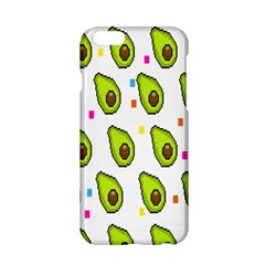 Avocado Seeds Green Fruit Plaid Apple iPhone 6/6S Hardshell Case