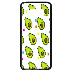 Avocado Seeds Green Fruit Plaid Samsung Galaxy S8 Black Seamless Case