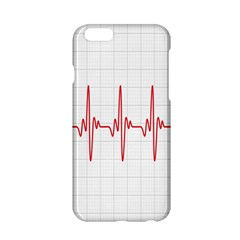 Cardiogram Vary Heart Rate Perform Line Red Plaid Wave Waves Chevron Apple iPhone 6/6S Hardshell Case