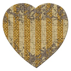 Wall Paper Old Line Vertical Jigsaw Puzzle (Heart)