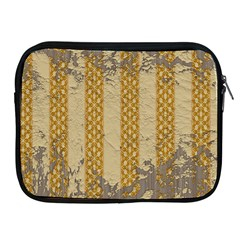 Wall Paper Old Line Vertical Apple iPad 2/3/4 Zipper Cases