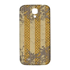 Wall Paper Old Line Vertical Samsung Galaxy S4 I9500/I9505  Hardshell Back Case