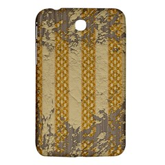 Wall Paper Old Line Vertical Samsung Galaxy Tab 3 (7 ) P3200 Hardshell Case