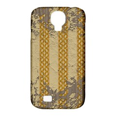 Wall Paper Old Line Vertical Samsung Galaxy S4 Classic Hardshell Case (PC+Silicone)