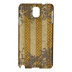 Wall Paper Old Line Vertical Samsung Galaxy Note 3 N9005 Hardshell Case
