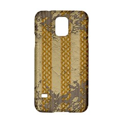 Wall Paper Old Line Vertical Samsung Galaxy S5 Hardshell Case