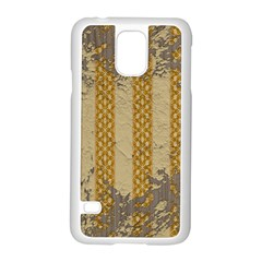 Wall Paper Old Line Vertical Samsung Galaxy S5 Case (White)