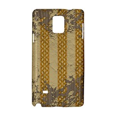 Wall Paper Old Line Vertical Samsung Galaxy Note 4 Hardshell Case