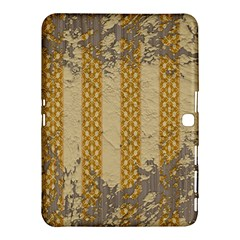 Wall Paper Old Line Vertical Samsung Galaxy Tab 4 (10.1 ) Hardshell Case