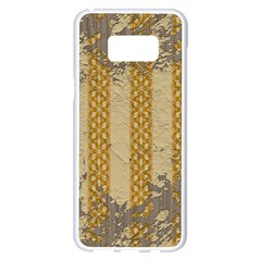 Wall Paper Old Line Vertical Samsung Galaxy S8 Plus White Seamless Case