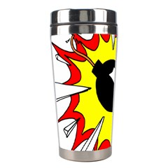 Book Explosion Boom Dinamite Stainless Steel Travel Tumblers