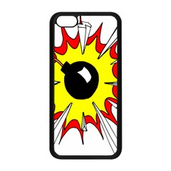 Book Explosion Boom Dinamite Apple iPhone 5C Seamless Case (Black)