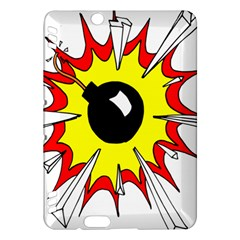 Book Explosion Boom Dinamite Kindle Fire HDX Hardshell Case