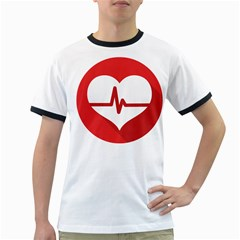 Cardiologist Hypertension Rheumatology Specialists Heart Rate Red Love Ringer T-Shirts