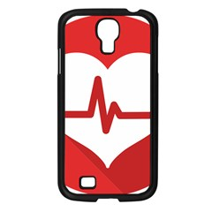 Cardiologist Hypertension Rheumatology Specialists Heart Rate Red Love Samsung Galaxy S4 I9500/ I9505 Case (Black)