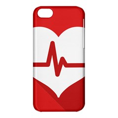 Cardiologist Hypertension Rheumatology Specialists Heart Rate Red Love Apple iPhone 5C Hardshell Case