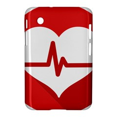 Cardiologist Hypertension Rheumatology Specialists Heart Rate Red Love Samsung Galaxy Tab 2 (7 ) P3100 Hardshell Case