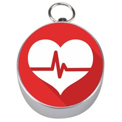 Cardiologist Hypertension Rheumatology Specialists Heart Rate Red Love Silver Compasses