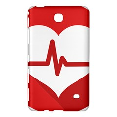 Cardiologist Hypertension Rheumatology Specialists Heart Rate Red Love Samsung Galaxy Tab 4 (7 ) Hardshell Case