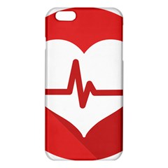 Cardiologist Hypertension Rheumatology Specialists Heart Rate Red Love iPhone 6 Plus/6S Plus TPU Case