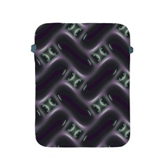 Closeup Purple Line Apple iPad 2/3/4 Protective Soft Cases