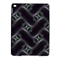 Closeup Purple Line iPad Air 2 Hardshell Cases