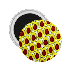 Avocados Seeds Yellow Brown Greeen 2.25  Magnets
