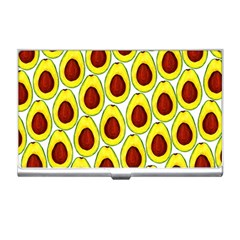 Avocados Seeds Yellow Brown Greeen Business Card Holders